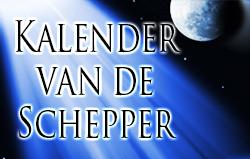 Kalender van de Schepper