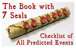 The Book with 7 Seals: Checklist of All Predicted Events