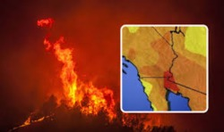 KILLER HEATWAVE hits California after leaving dozens dead in Canada - WILDFIRE warning