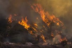 SoCal Fire May Have Ejected