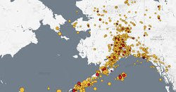 North America Is Rattling: There Have Been 81 Significant Earthquakes In Alaska So Far In 2019