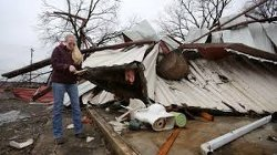 More than 20 million people under flood watch after killer storms power through Midwest, East