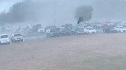 VIDEO: Tornado upends, tosses cars in Loris High School parking lot