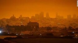 In Los Angeles, the smoke just hangs all day, every day. Residents say it's taking a toll