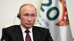 Putin Tells G20 World Faces Economic Crisis Not Seen Since Great Depression