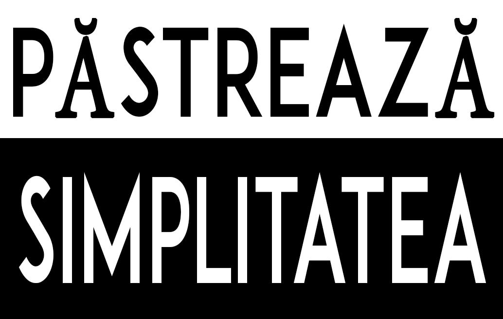 Păstrează Simplitatea