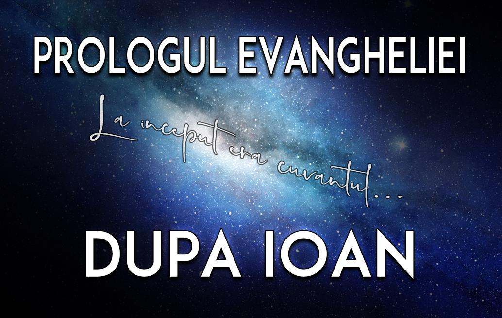 Prologul Evangheliei după Ioan