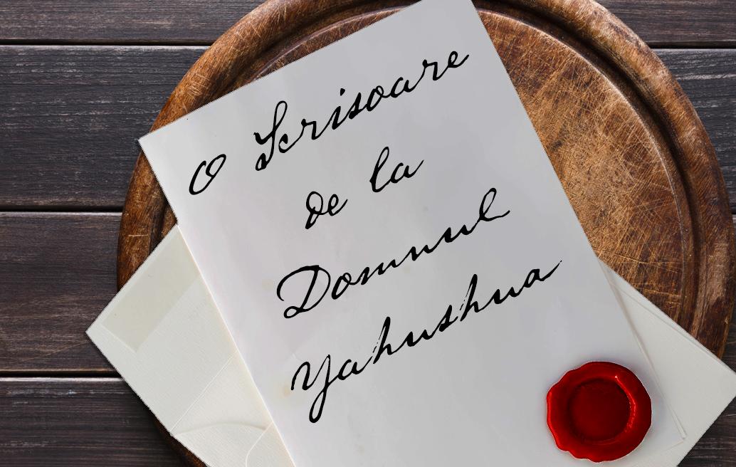 O Scrisoare de la Domnul Yahushua