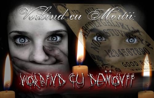 Vorbind cu Morții: Vorbind cu Demonii