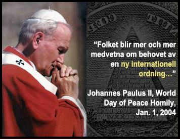 new world order - john paul ii