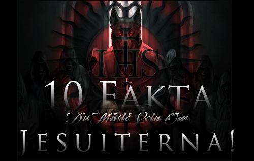 10 FAKTA du måste veta om jesuiterna!