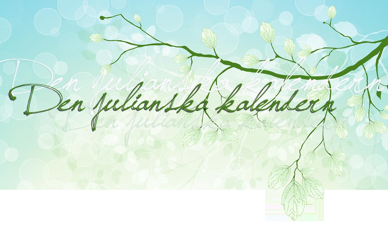 Den julianska kalendern