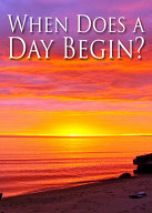 When Does a Day Begin?