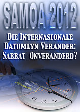 Die Internasionale Datumlyn Verander: Die Sabbat onverandered?