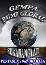 Gempa Bumi Global Pertanda 7 Sangkakala