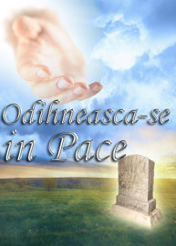 Odihneasca-se in Pace