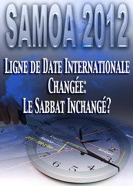 Ligne de Date Internationale changée: Le Sabbat inchangé?