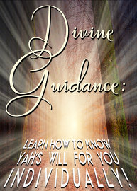 Divine Guidance: Learn how to know Yah's will for you individually!
